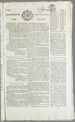 Zierikzeesche Courant 1824-07-09