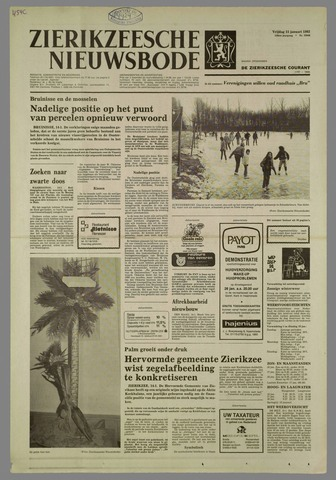Zierikzeesche Nieuwsbode 1982-01-15