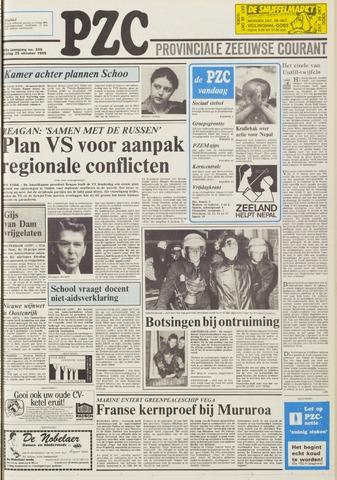 Provinciale Zeeuwse Courant 1985-10-25