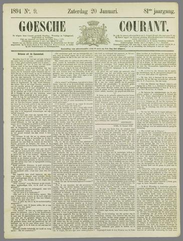 Goessche Courant 1894-01-20