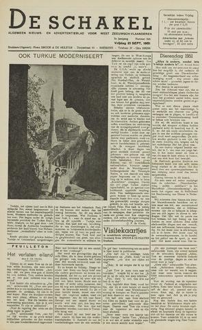 De Schakel 1951-09-21