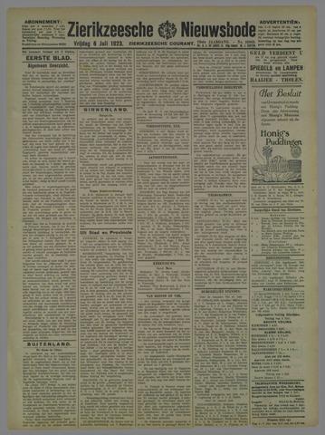 Zierikzeesche Nieuwsbode 1923-07-06