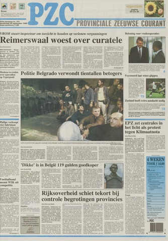 Provinciale Zeeuwse Courant 1999-09-30