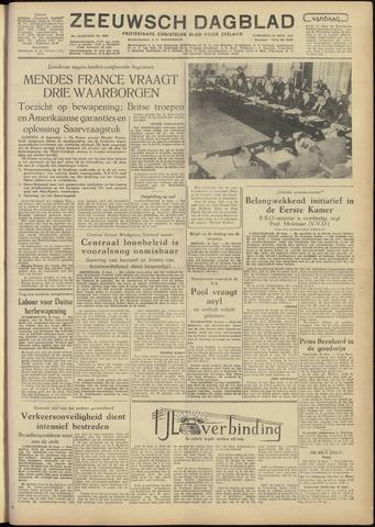 Zeeuwsch Dagblad 1954-09-29