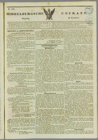 Middelburgsche Courant 1846-12-22