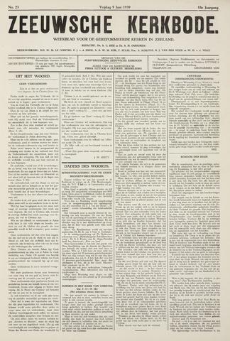 Zeeuwsche kerkbode, weekblad gewijd aan de belangen der gereformeerde kerken/ Zeeuwsch kerkblad 1939-06-09