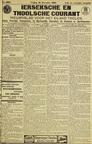 Ierseksche en Thoolsche Courant 1930-12-19