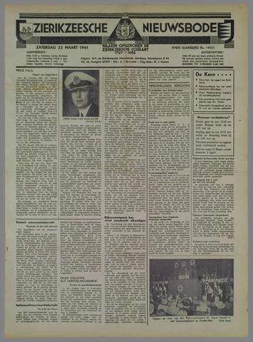 Zierikzeesche Nieuwsbode 1941-03-22