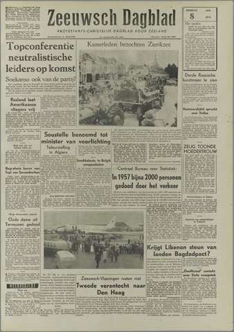 Zeeuwsch Dagblad 1958-07-08