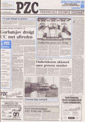 Provinciale Zeeuwse Courant 1989-12-12