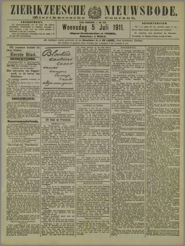 Zierikzeesche Nieuwsbode 1911-07-05
