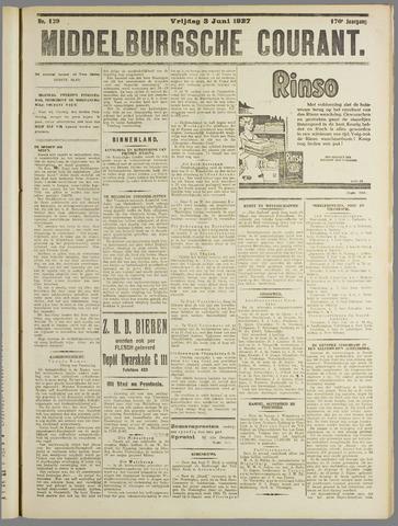 Middelburgsche Courant 1927-06-03