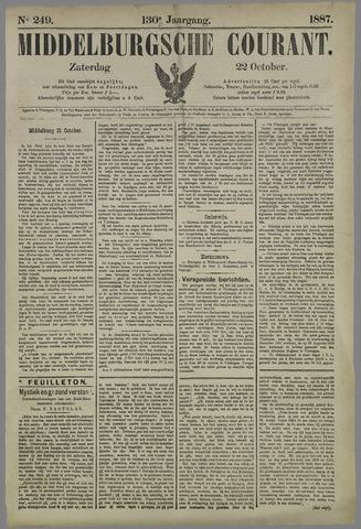 Middelburgsche Courant 1887-10-22
