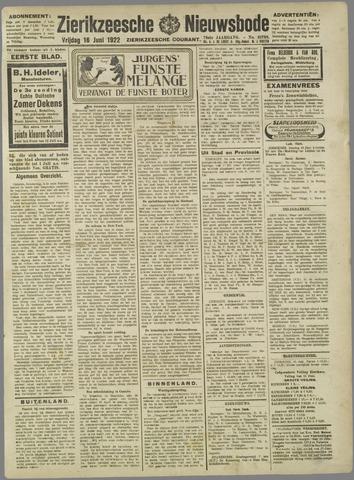 Zierikzeesche Nieuwsbode 1922-06-16