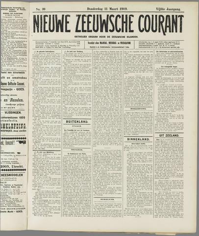 Nieuwe Zeeuwsche Courant 1909-03-11