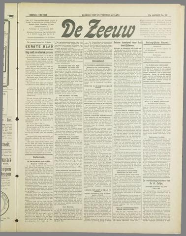 De Zeeuw. Christelijk-historisch nieuwsblad voor Zeeland 1937-05-04