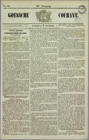 Goessche Courant 1856-11-06