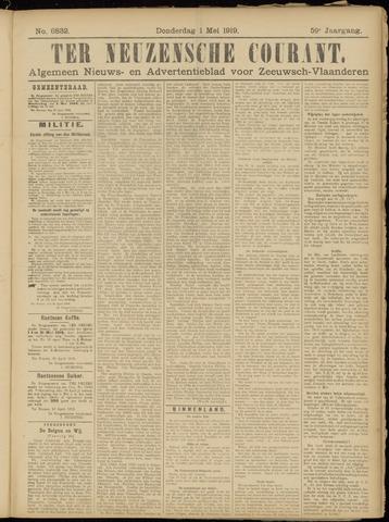Ter Neuzensche Courant. Algemeen Nieuws- en Advertentieblad voor Zeeuwsch-Vlaanderen / Neuzensche Courant ... (idem) / (Algemeen) nieuws en advertentieblad voor Zeeuwsch-Vlaanderen 1919-05-01