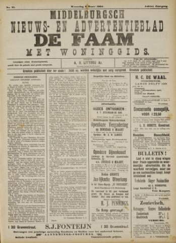 de Faam en de Faam/de Vlissinger 1904-03-02