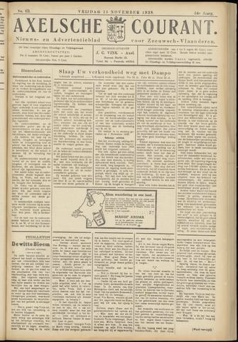 Axelsche Courant 1938-11-11