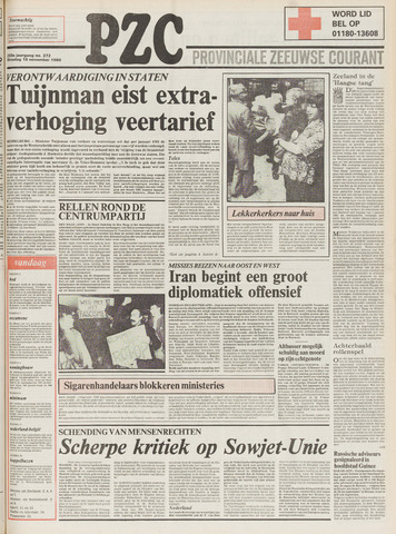 Provinciale Zeeuwse Courant 1980-11-18