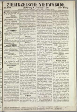 Zierikzeesche Nieuwsbode 1881-01-08