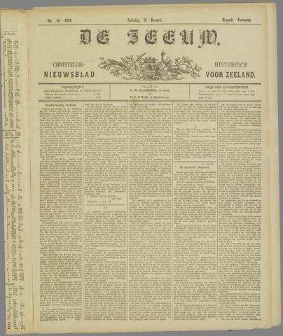 De Zeeuw. Christelijk-historisch nieuwsblad voor Zeeland 1895-01-26