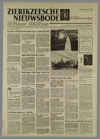 Zierikzeesche Nieuwsbode 1965-04-26