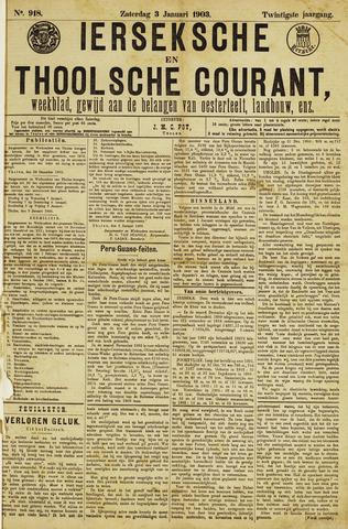 Ierseksche en Thoolsche Courant 1903