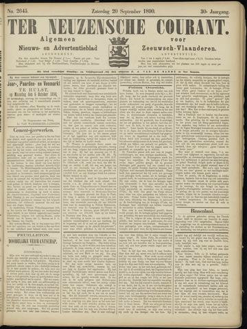 Ter Neuzensche Courant. Algemeen Nieuws- en Advertentieblad voor Zeeuwsch-Vlaanderen / Neuzensche Courant ... (idem) / (Algemeen) nieuws en advertentieblad voor Zeeuwsch-Vlaanderen 1890-09-20
