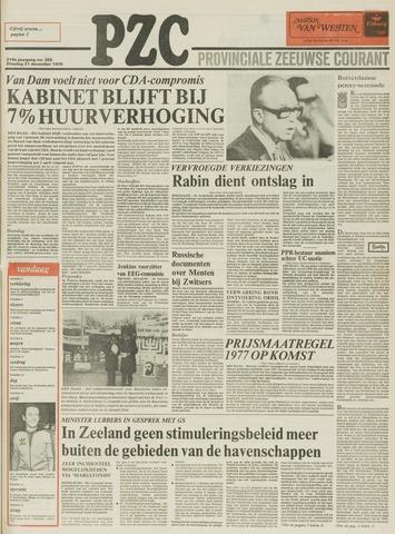 Provinciale Zeeuwse Courant 1976-12-21