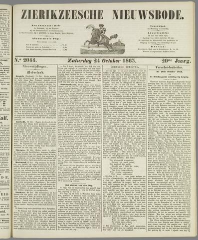 Zierikzeesche Nieuwsbode 1863-10-24