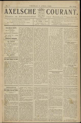 Axelsche Courant 1925-04-03