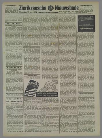 Zierikzeesche Nieuwsbode 1934-08-15