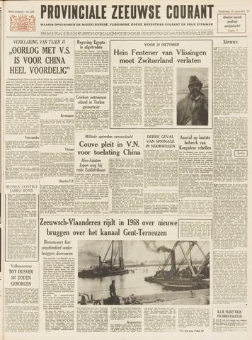 Provinciale Zeeuwse Courant 1965-09-30