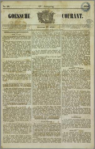 Goessche Courant 1856-04-14
