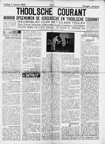 Ierseksche en Thoolsche Courant 1943