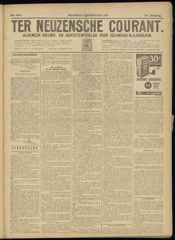 Ter Neuzensche Courant. Algemeen Nieuws- en Advertentieblad voor Zeeuwsch-Vlaanderen / Neuzensche Courant ... (idem) / (Algemeen) nieuws en advertentieblad voor Zeeuwsch-Vlaanderen 1933-02-06