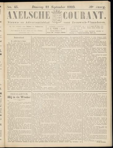 Axelsche Courant 1923-09-11