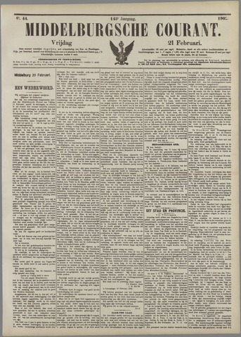 Middelburgsche Courant 1902-02-21