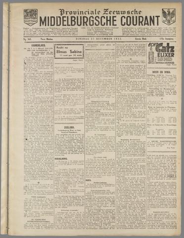 Middelburgsche Courant 1932-12-27