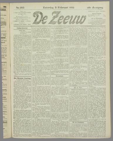 De Zeeuw. Christelijk-historisch nieuwsblad voor Zeeland 1917-02-03