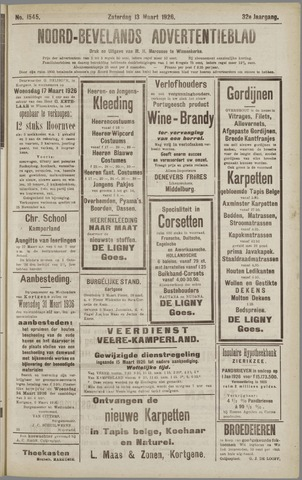 Noord-Bevelands Nieuws- en advertentieblad 1926-03-13