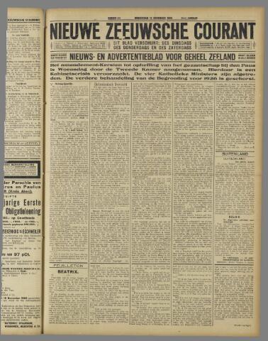 Nieuwe Zeeuwsche Courant 1925-11-12