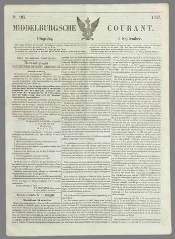 Middelburgsche Courant 1857-09-01