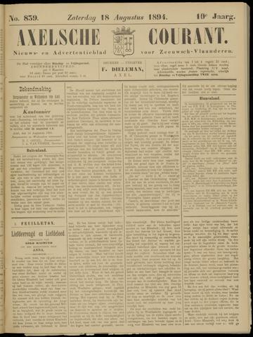 Axelsche Courant 1894-08-18