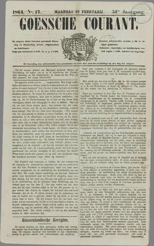 Goessche Courant 1864-02-29