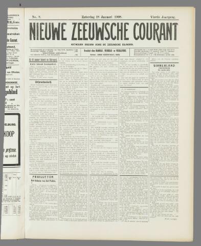 Nieuwe Zeeuwsche Courant 1908-01-18