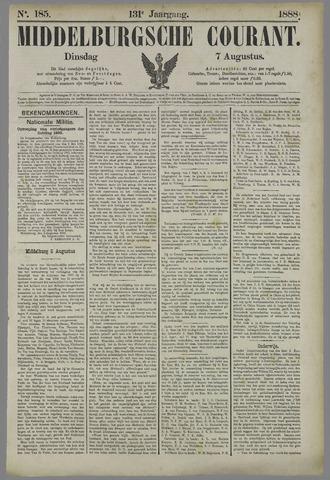 Middelburgsche Courant 1888-08-07