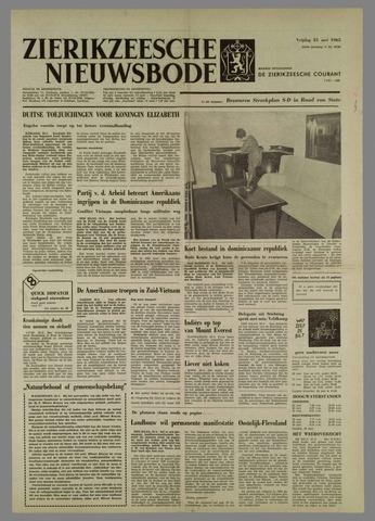 Zierikzeesche Nieuwsbode 1965-05-21